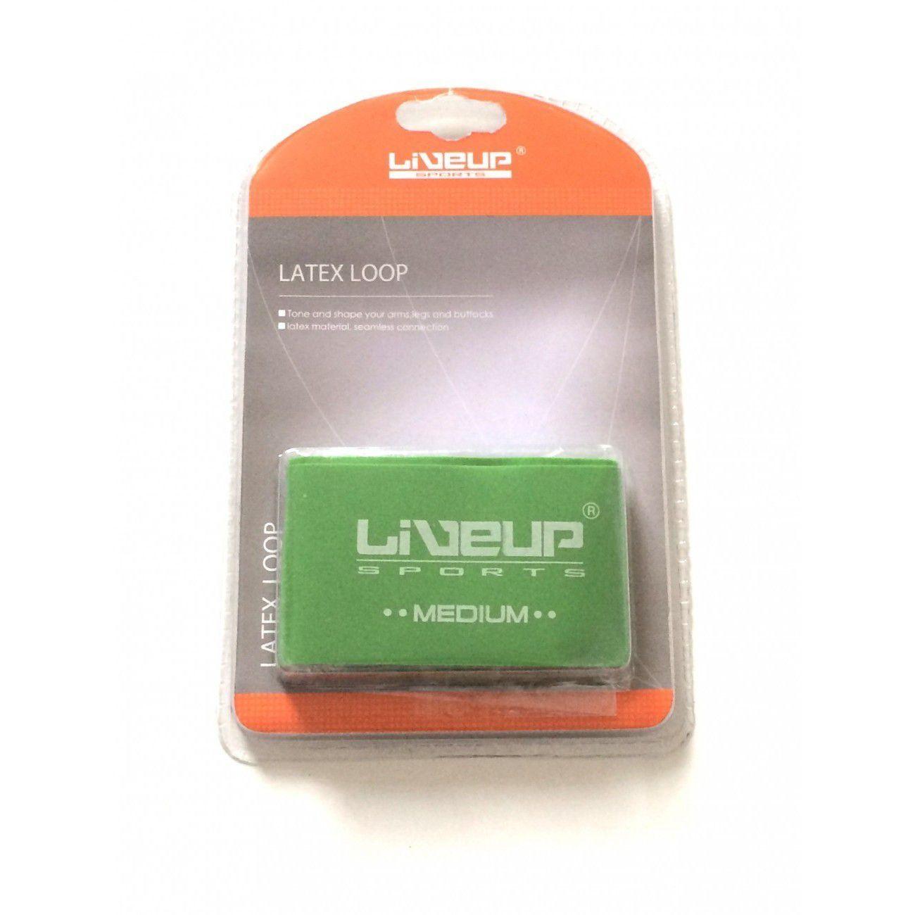 Mini Band Liveup Média Verde