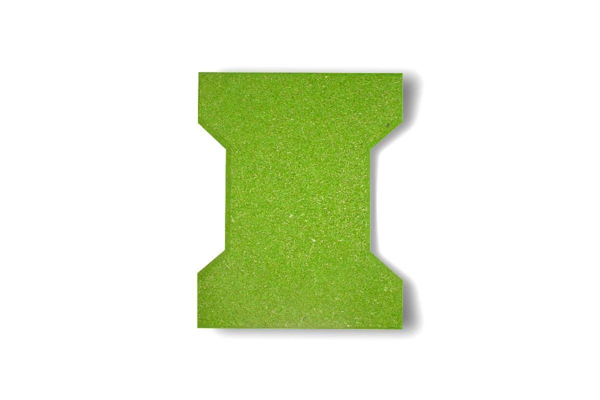 Piso de Borracha Ecológico Colorido Ossinho 25mm - A partir de R$ 3,78 A UNIDADE. Faça sua cotação antes da compra!