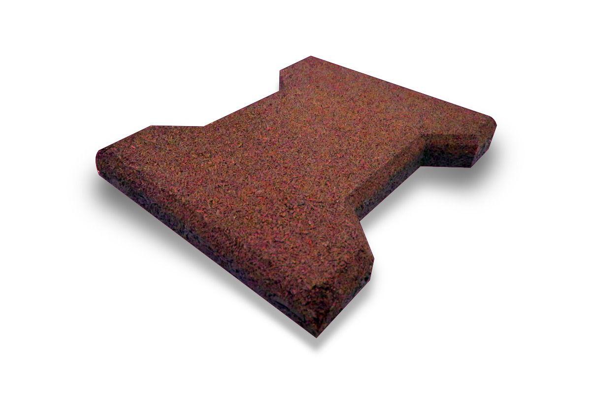Piso de Borracha Ecológico Colorido Ossinho 50mm - A partir de R$ 9,68 A UNIDADE. Faça sua cotação antes da compra!