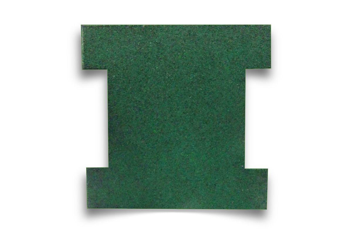 Piso de Borracha Ecológico Colorido Romano 50mm - A partir de R$ 19,89 A UNIDADE. Faça sua cotação antes da compra!