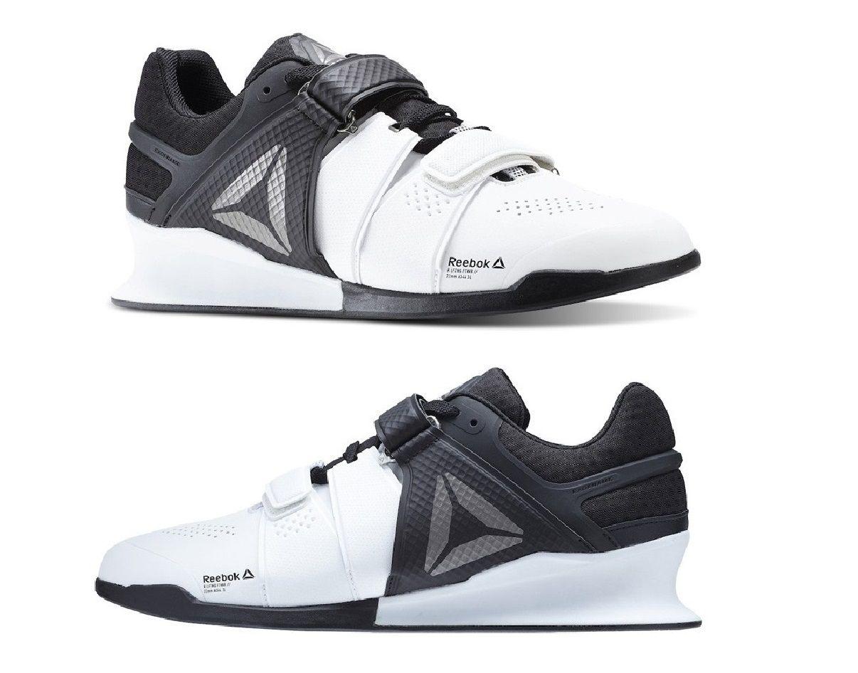 Tenis Reebok Legacy Lifter LPO Exo Frame Preto e Branco