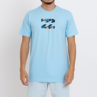 Camiseta Billabong Team Wave III B471A0259 Azul Claro