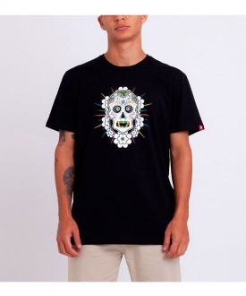 Camiseta Masculina Element Cataclysm E471A0053 Preta