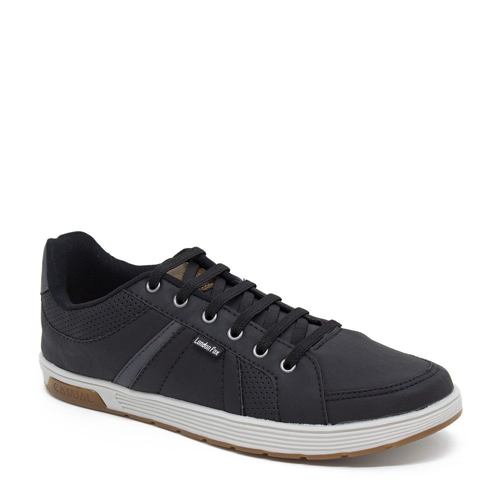 Sapatênis London Fox LF27 Masculino  Preto