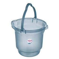 Balde 15L para Limpeza de Plástico Azul Sanremo