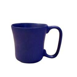 Caneca 200Ml de Cerâmica Especial Pode Ir Ao Micro-Ondas e Convencional e Elétrico Azul