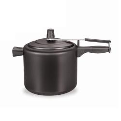 Panela de Pressão 4,5L de Alumínio Antiaderente Alças e Cabos de Baquelite Black