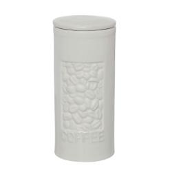 Pote de Porcelana para Café com Vedação em Silicone