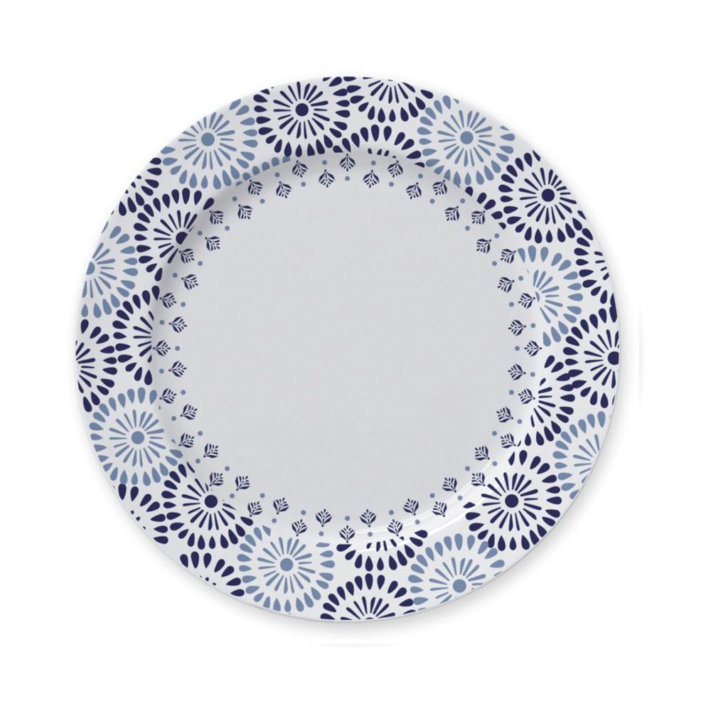 Aparelho de Jantar e Chá 20 Peças de Porcelana - 4 Pratos Raso, 4 Pratos Fundo, 4 Pratos de Sobremesa e 4 Xícaras de Chá 240Ml Lisboa