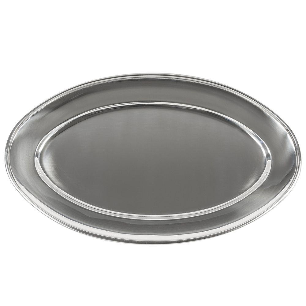 Travessa Oval em Aço Inox 35cm