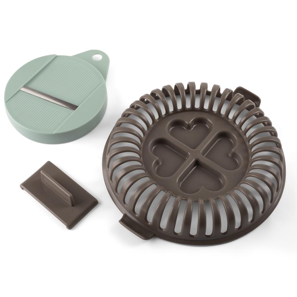 Batata Chips para Micro-Ondas de Plástico com Ralador