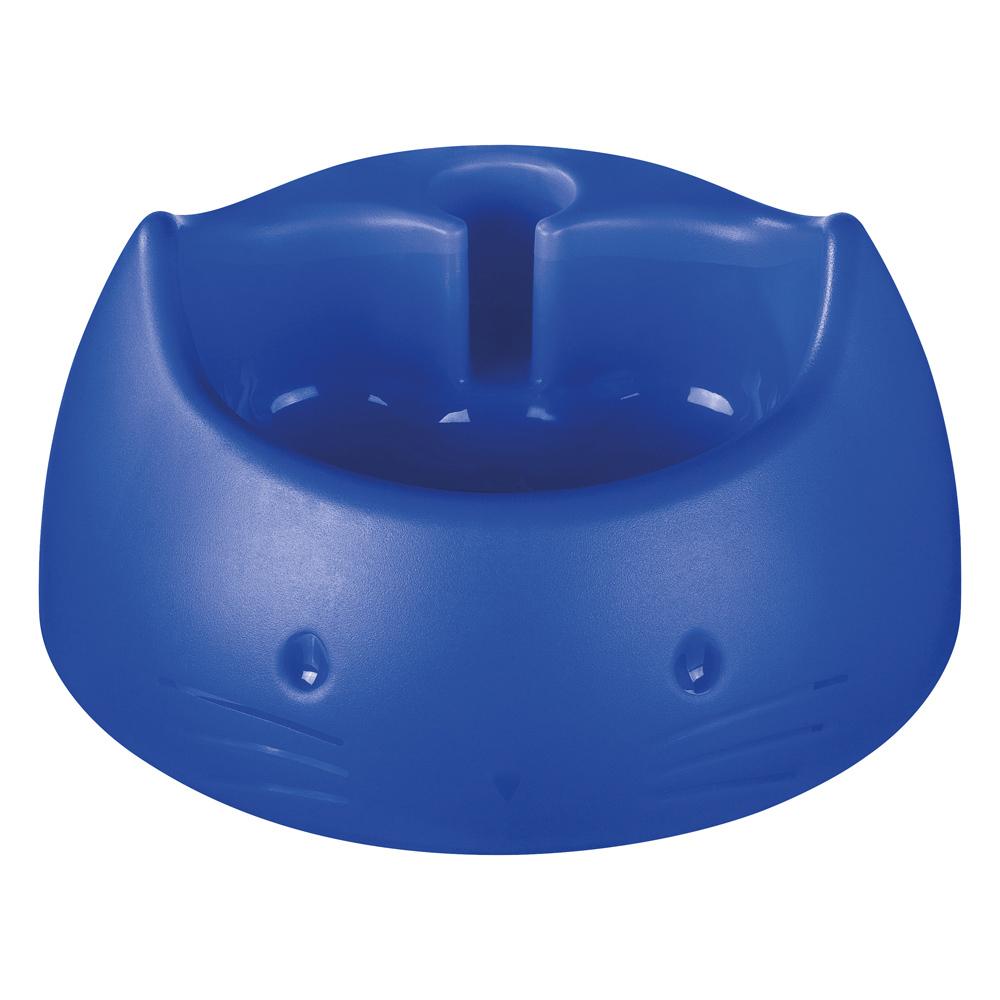 Bebedouro Automático para Gatos de Plástico 250Ml Azul Sanremo