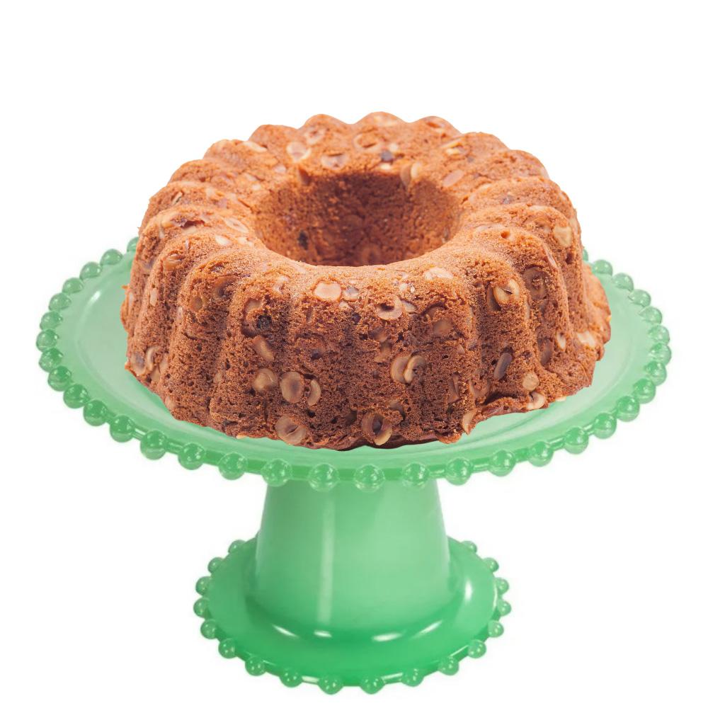 Boleira Next Wow 20cm para Tortas e Doces Finos de Vidro Verde