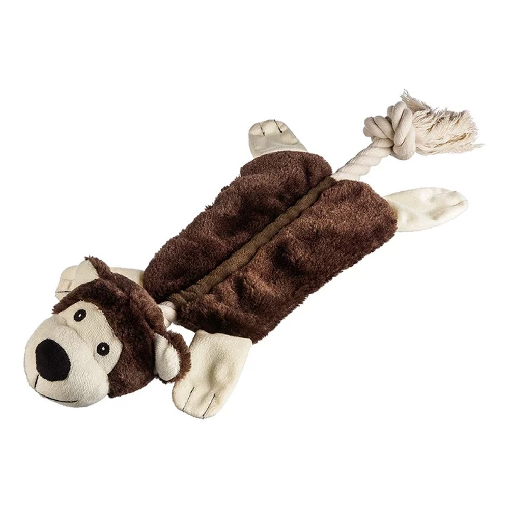 Brinquedo para Pet de Pelúcia Macaco e Leão
