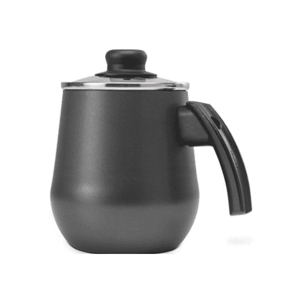 Bule para Ferver Água de Alumínio Antiaderente com Tampa de Vidro Gourmet 1,5L