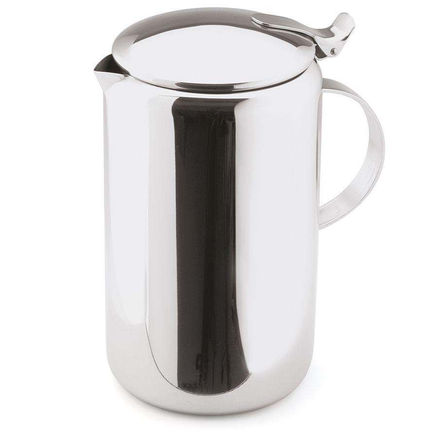 Bule para Servir Chá ou Café de Aço Inox com Alça 1,1L