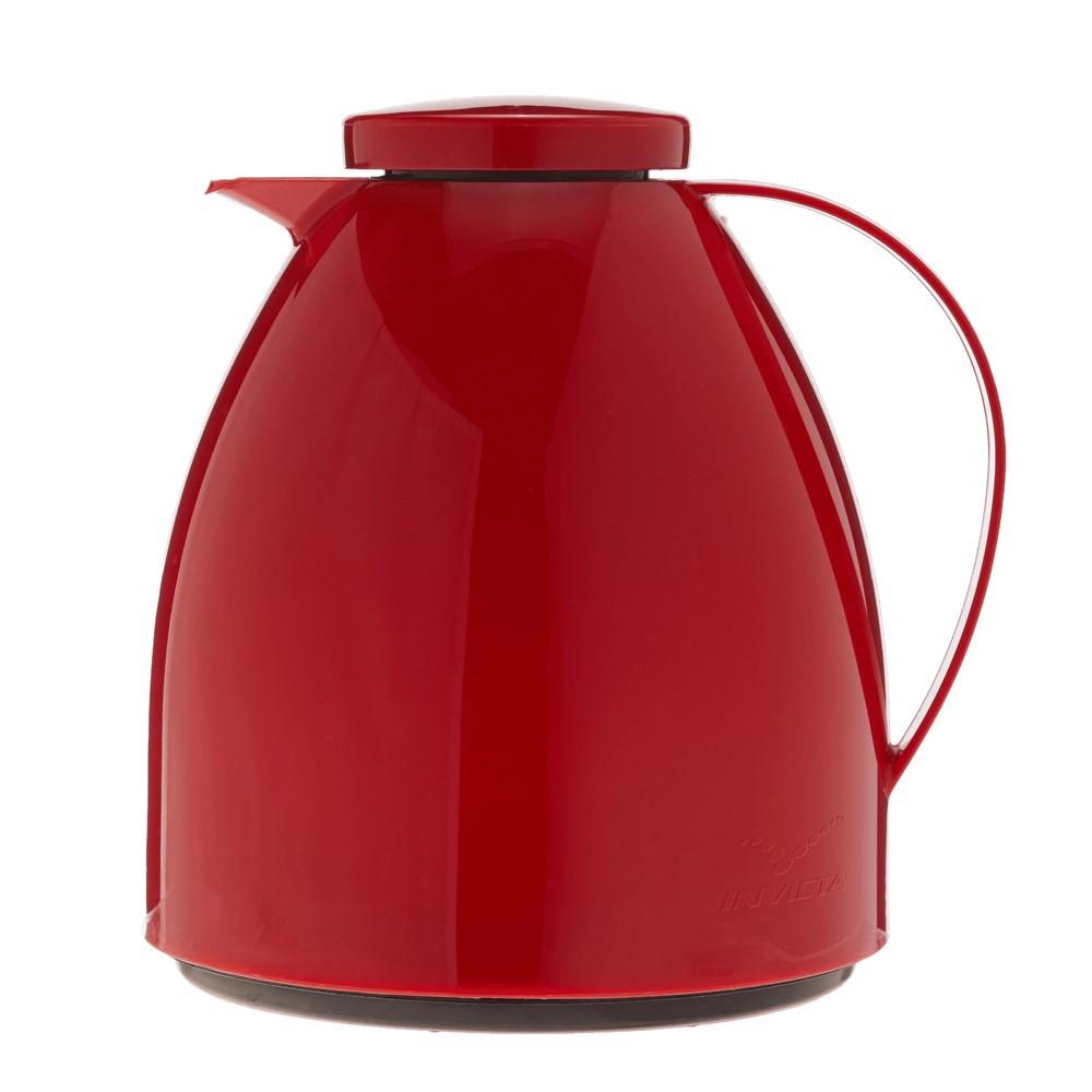 Garrafa ou Bule Térmico 400Ml de Polipropileno Viena Baby Vermelho Velvet