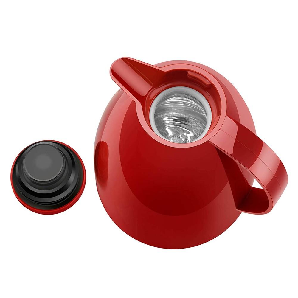 Bule Térmico 750Ml de Polipropileno Viena Vermelho Velvet