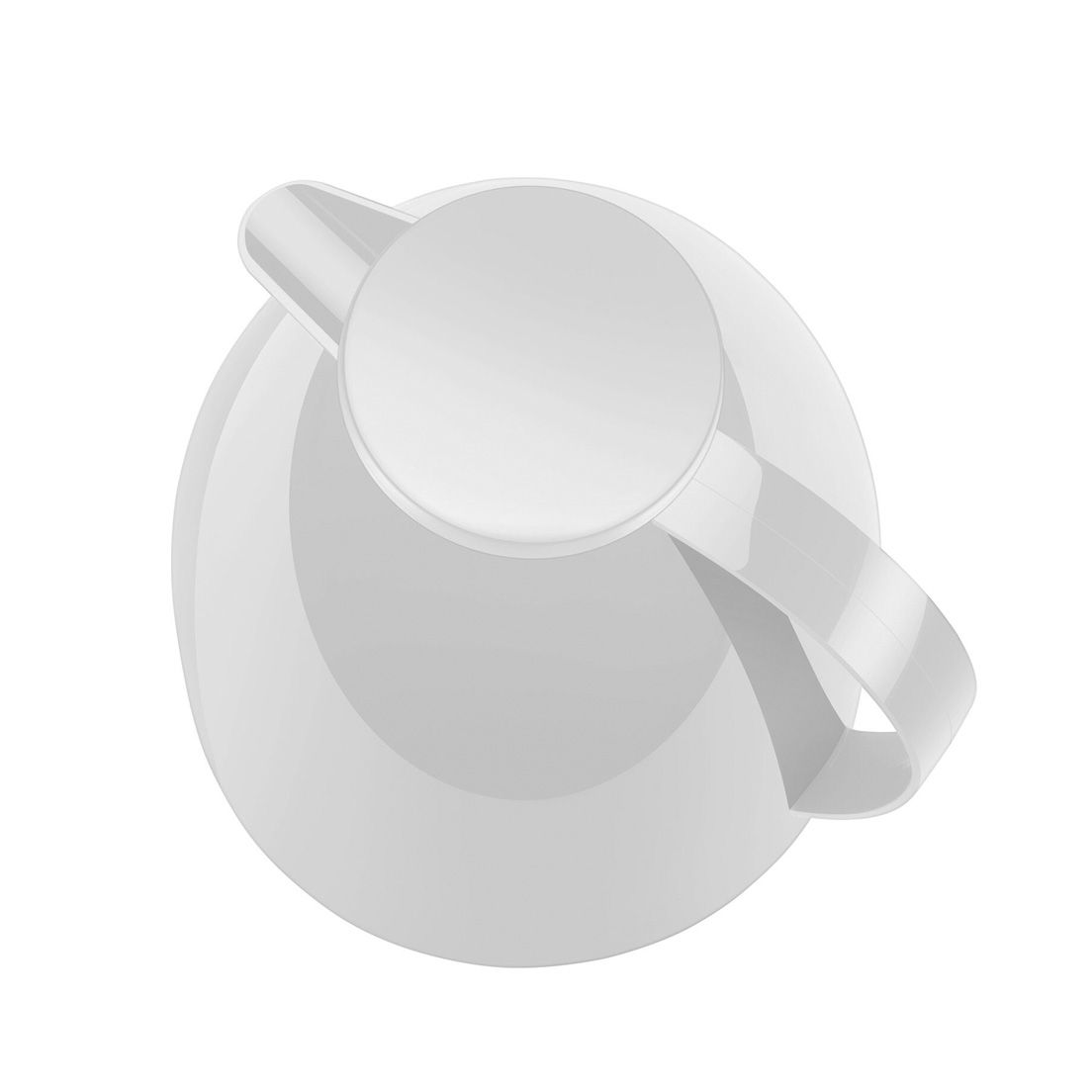 Bule Térmico 400Ml de Polipropileno Viena Baby Branco