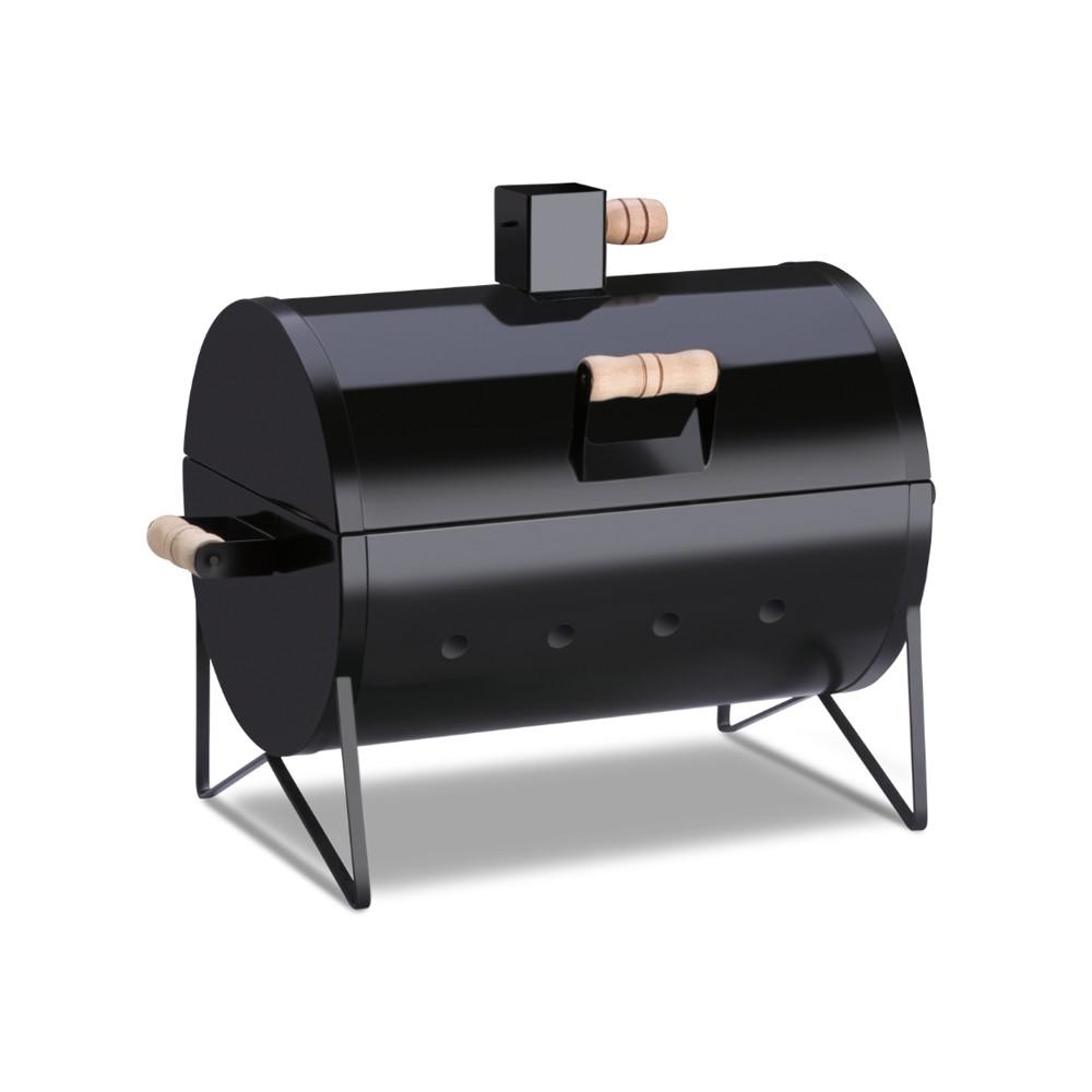 Churrasqueira a Carvão de Aço Portátil Barbecue Grill