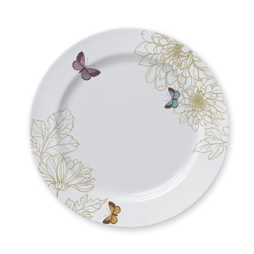 Conjunto de Pratos para Sobremesa 6 Peças de Porcelana 21Cm Milão
