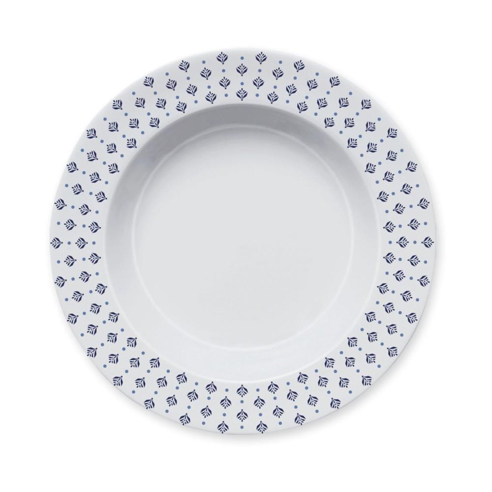 Conjunto de Pratos Fundos para Mesa com 6 Peças de Porcelana 24Cm Lisboa