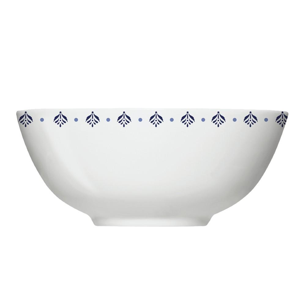 Conjunto de Bowls Tigelas com 6 Peças de Porcelana 550Ml Lisboa