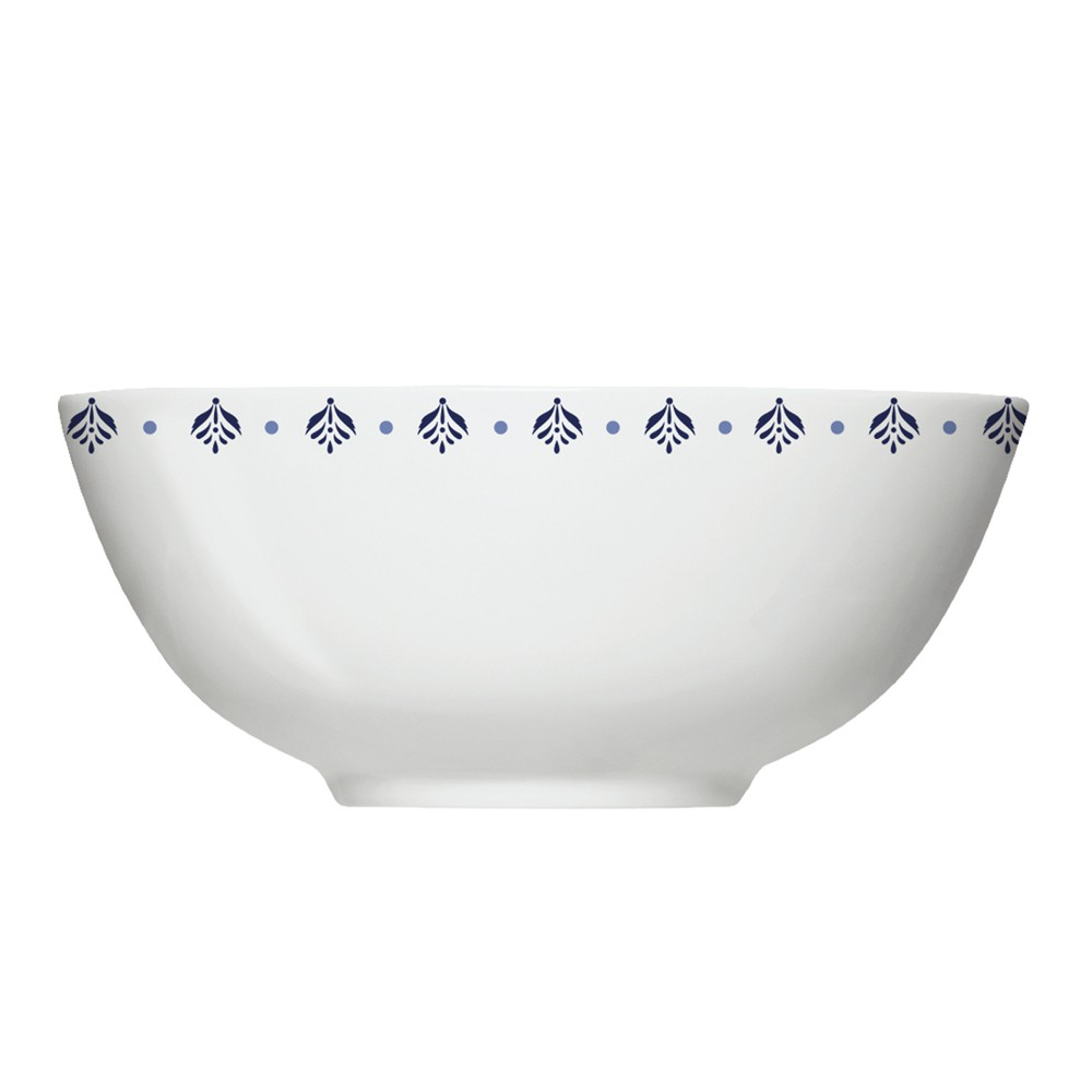 Conjunto de Bowls Tigelas 6 Peças de Porcelana 550Ml Lisboa