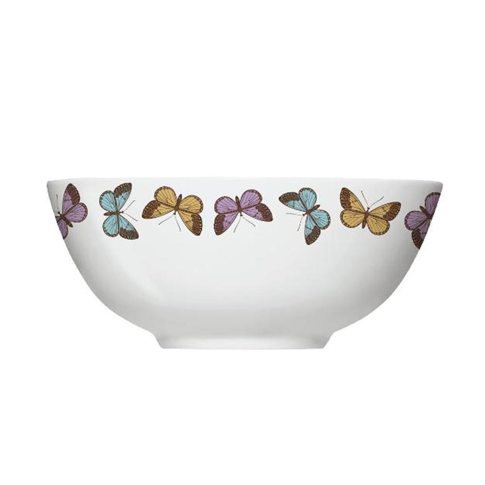 Conjunto de Bowls Tigelas com 6 Peças de Porcelana 550Ml Milão