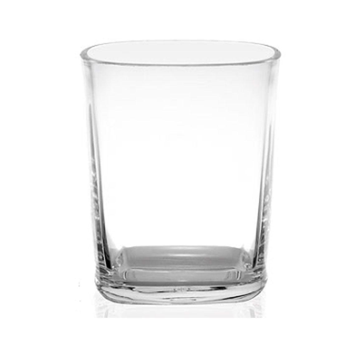 Copo 250Ml para Drink de Acrílico Square
