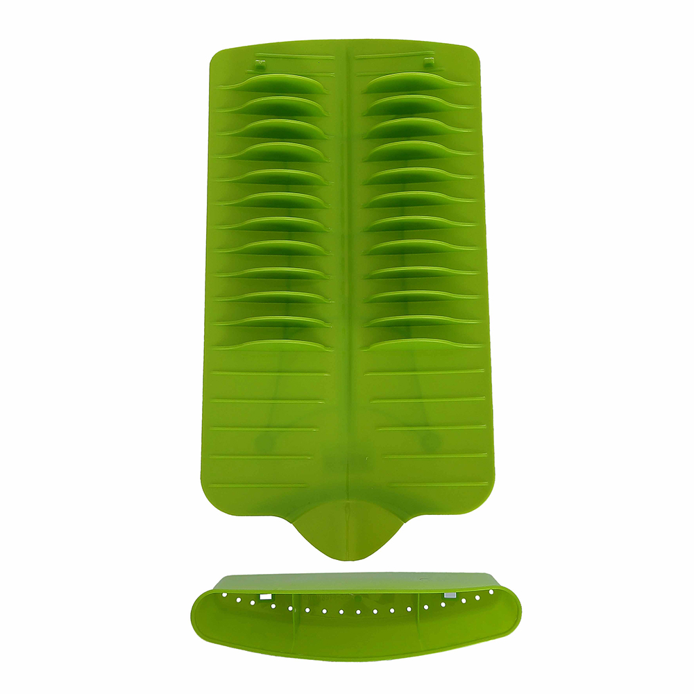 Escorredor Next para Louças de Plástico Resistente Retangular Verde