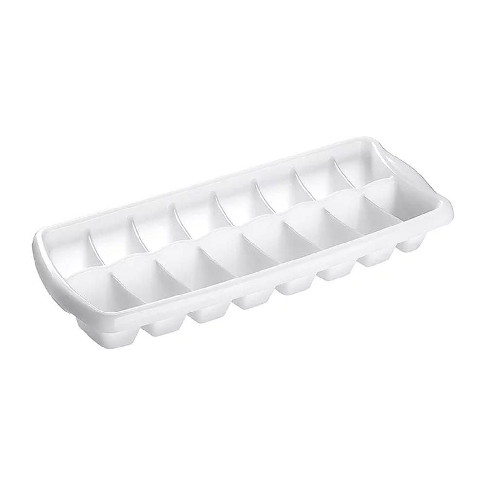 Forma para Gelo de Polipropileno Flexível Branca Sanremo