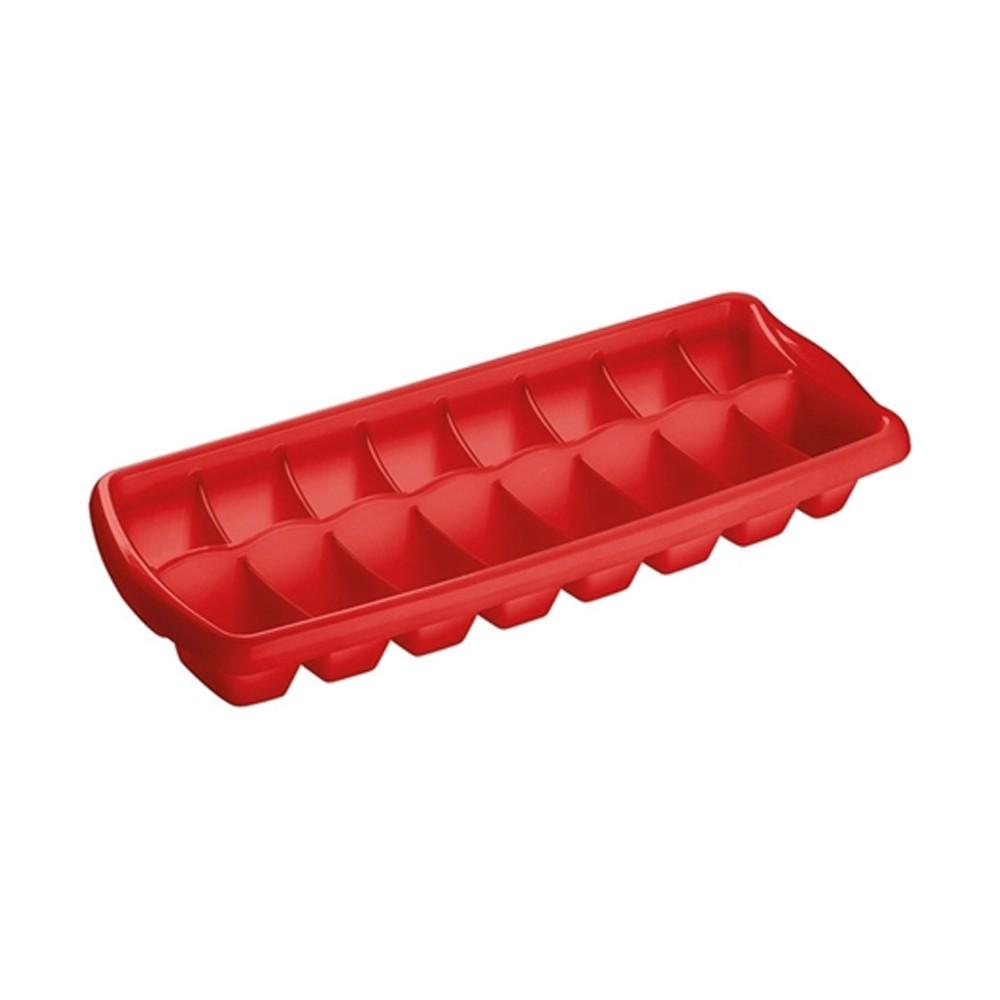 Forma para Gelo de Polipropileno Flexível Vermelho Casar Sanremo
