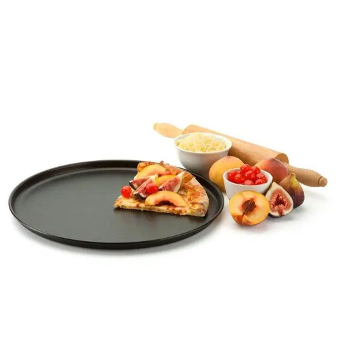 Forma Assadeira 35Cm para Pizza de Alumínio