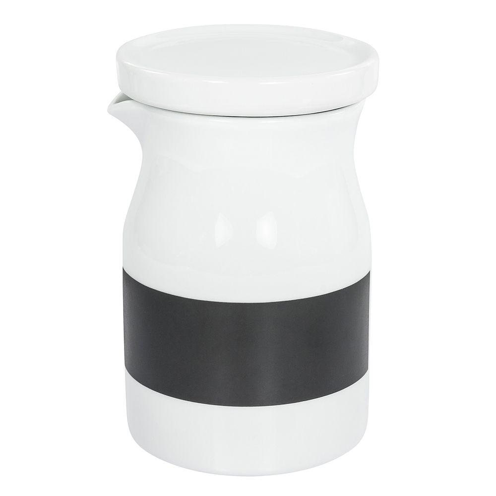 Garrafa de Porcelana com Tampa Vedação em Silicone 500Ml