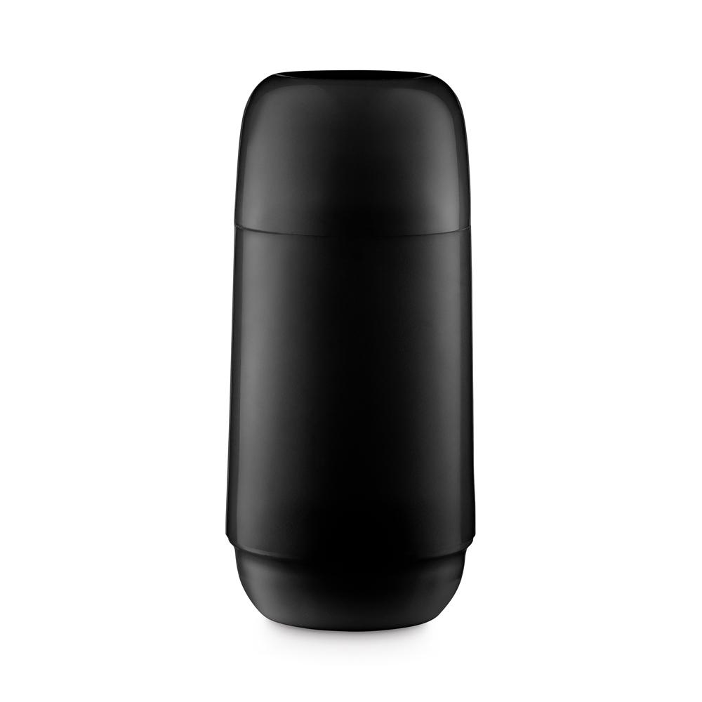Garrafa Térmica 250Ml de Plástico Adorar Preta