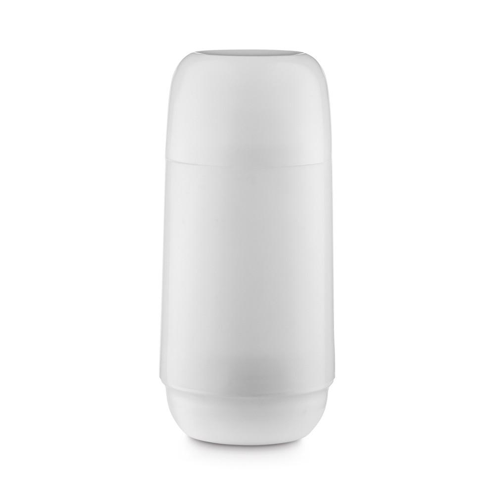 Garrafa Térmica de Plástico 250Ml Branca Adorar