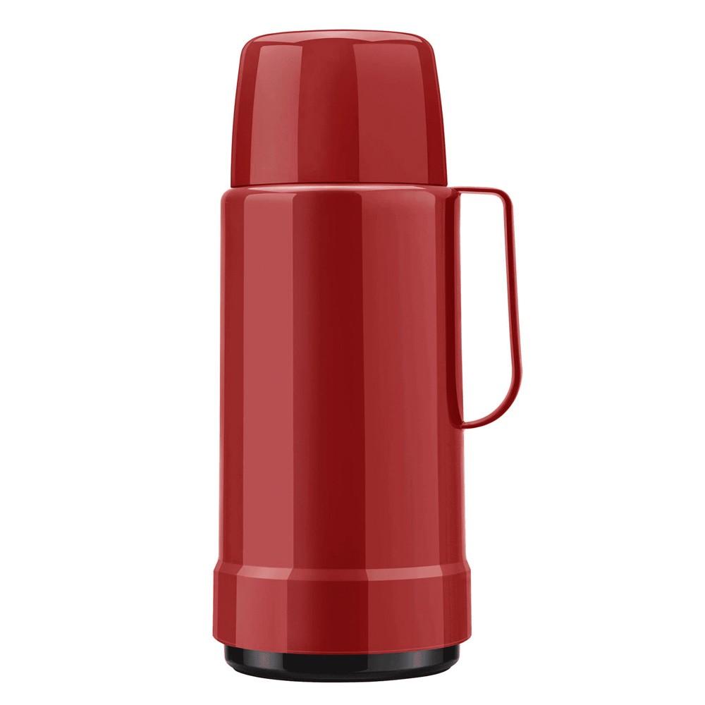 Garrafa Térmica de Polipropileno Galant com Rolha Vermelho Velvet 1L