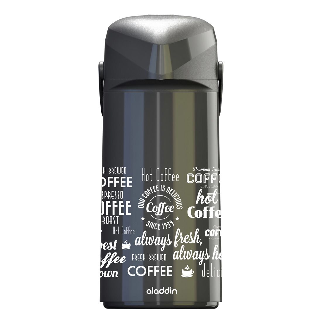 Garrafa ou Bule Térmico 1,8L de Polipropileno Massima Coffe
