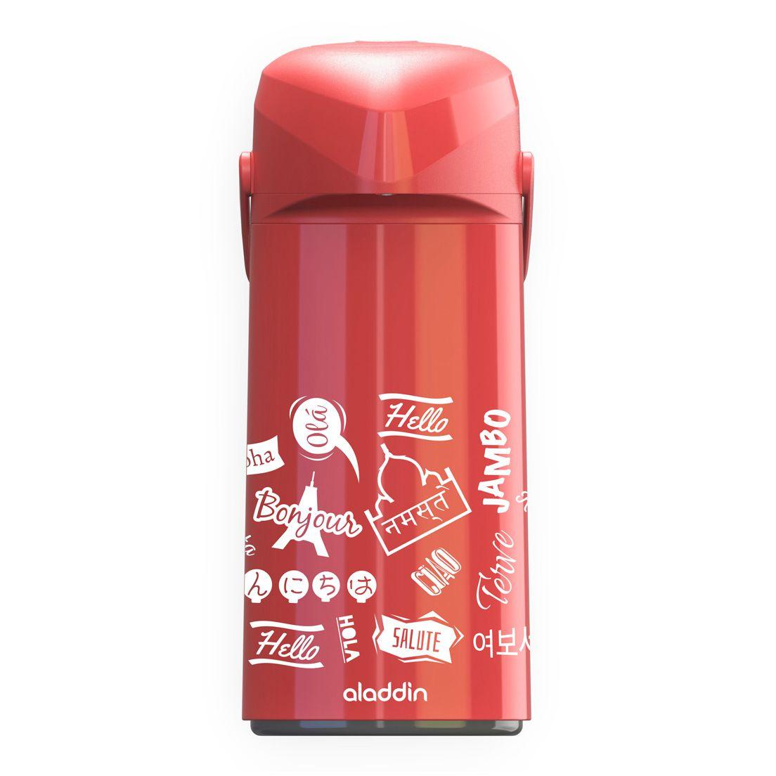 Garrafa Térmica Massima Hello Vermelha 1,8L