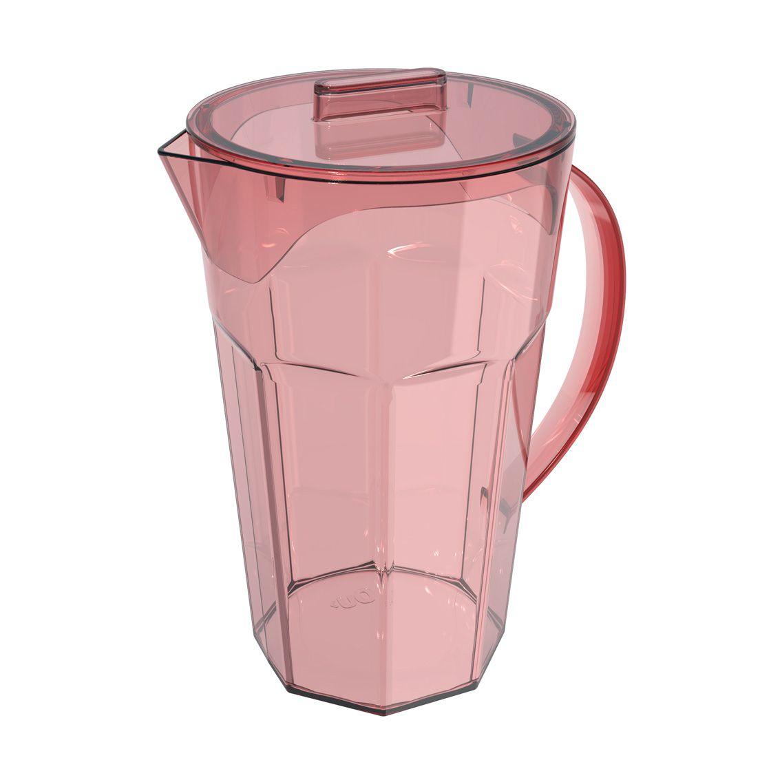 Jarra de Polipropileno Drink Rosa Quartz 1,8L