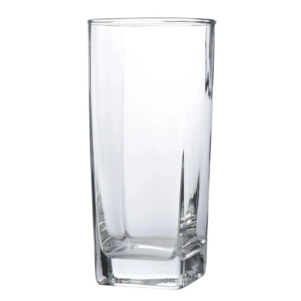 Jogo de Copos Casa Linda Bali 320ml de Vidro Transparente 6 Peças