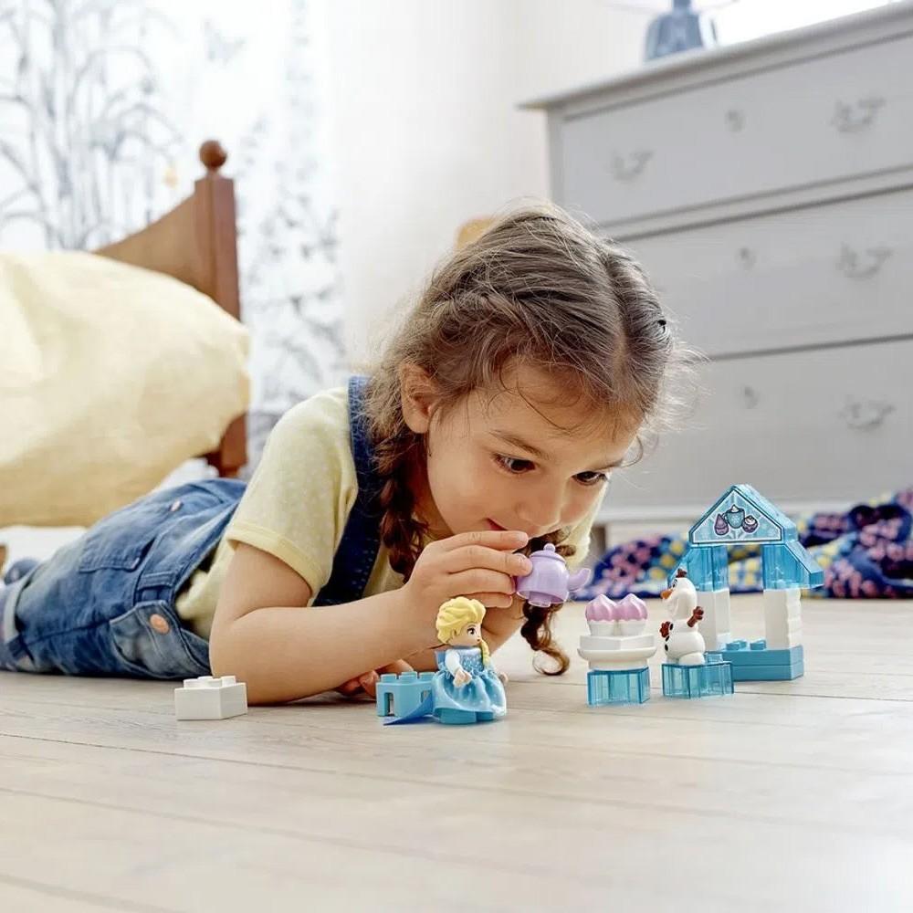 Lego Lego Duplo A Festa do Chá da Elsa e do Olaf