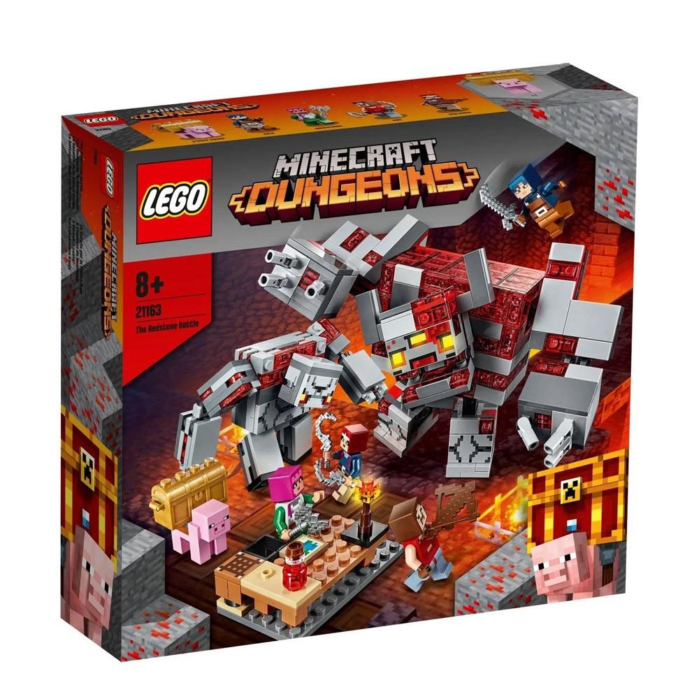 Lego Lego Minecraft A Batalha de Redstone