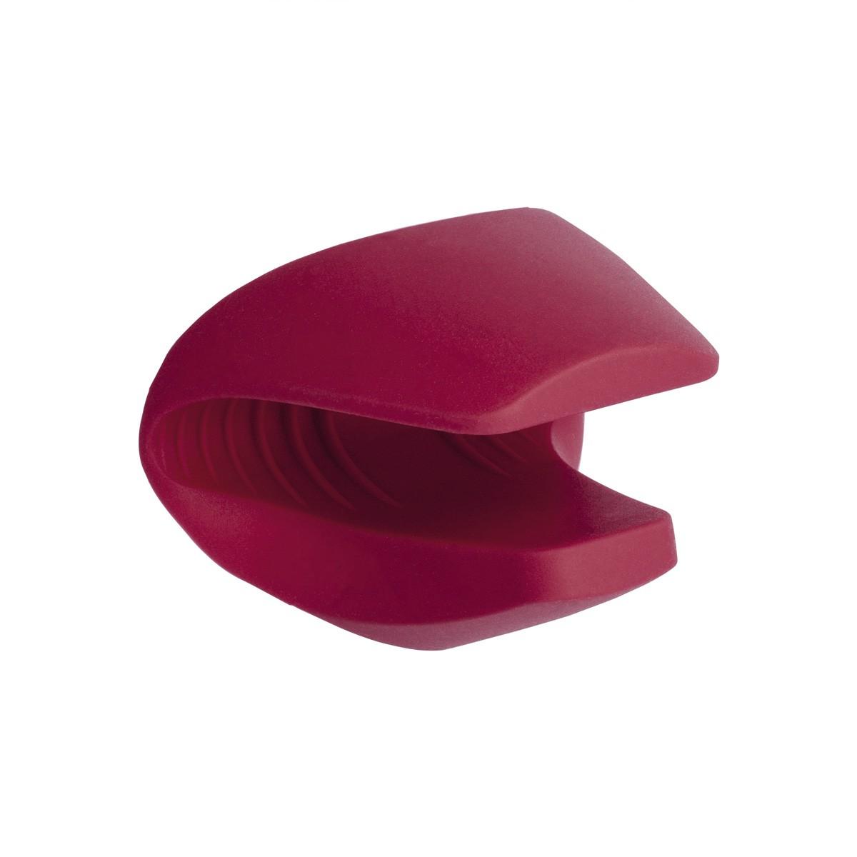 Luva Térmica para Cozinha de Silicone com Bico Vermelha
