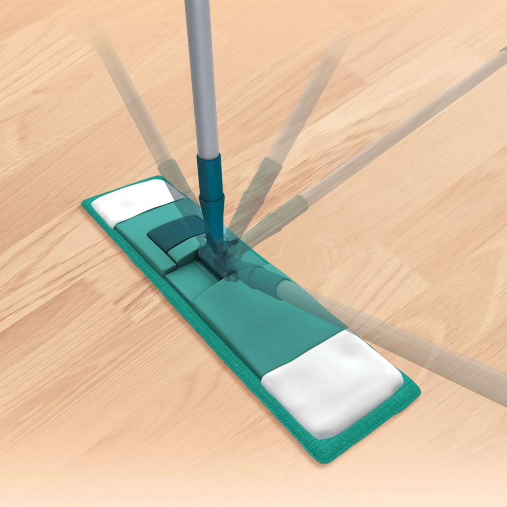 Mop Esfregão Flat Microfibra com Regulagem de Altura