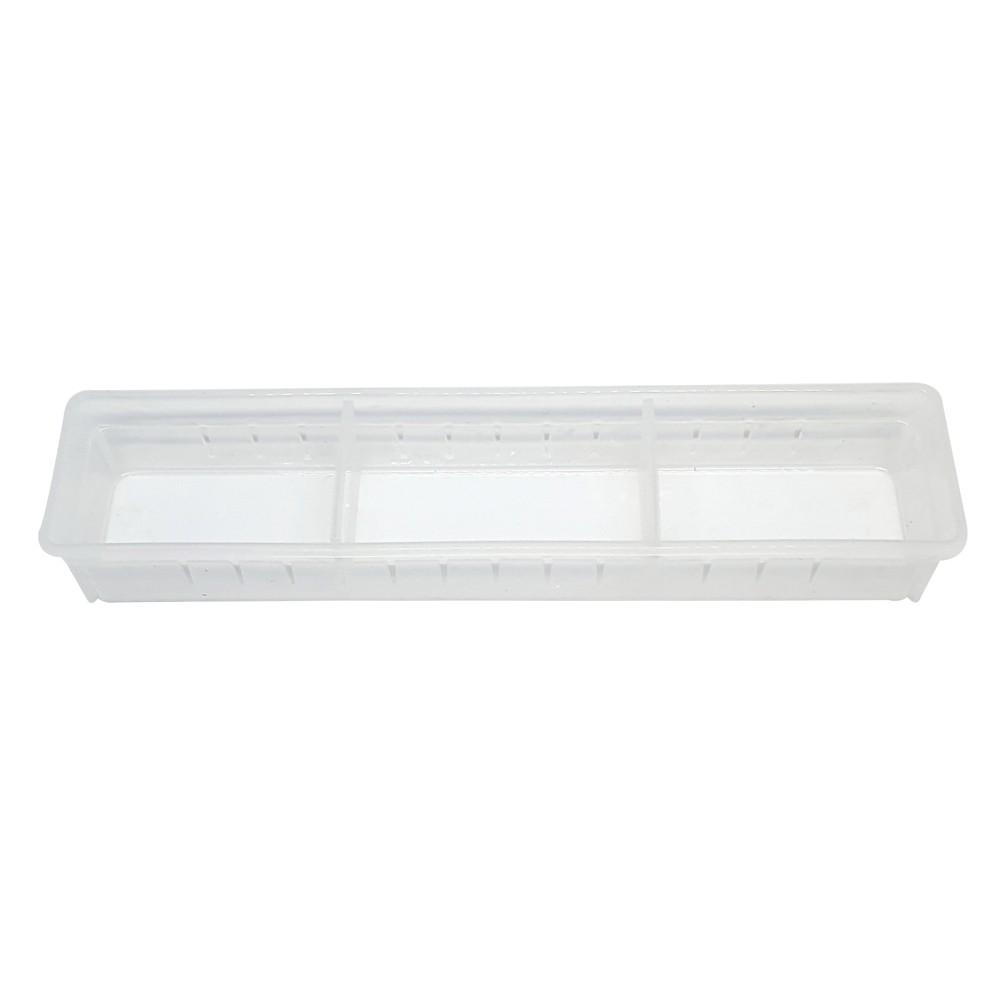 Organizador Multiuso  Branco 35 X 7Cm
