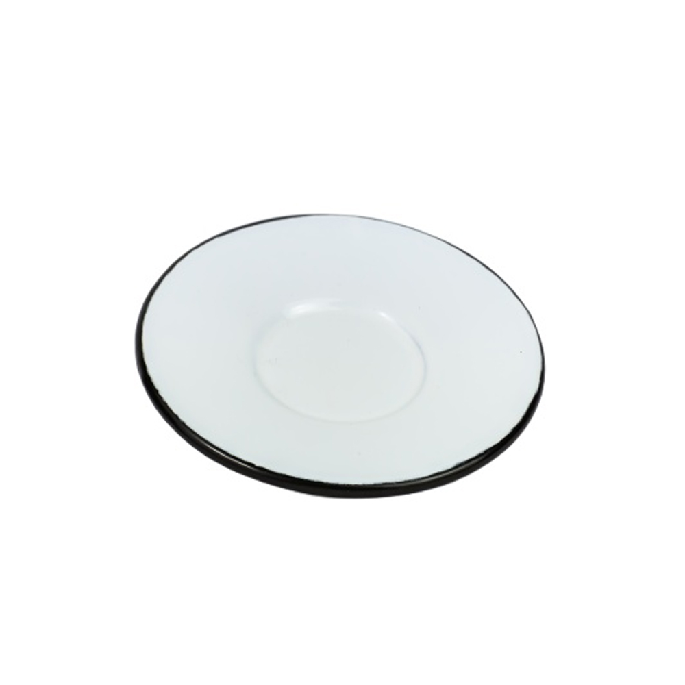Pires 6Cm para Xícara de Aço Carbono Esmaltado Branco