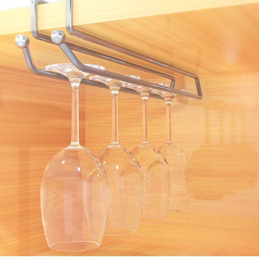 Porta Taças Duler para Encaixe em Armário de Aço Cromado com 4 Lugares