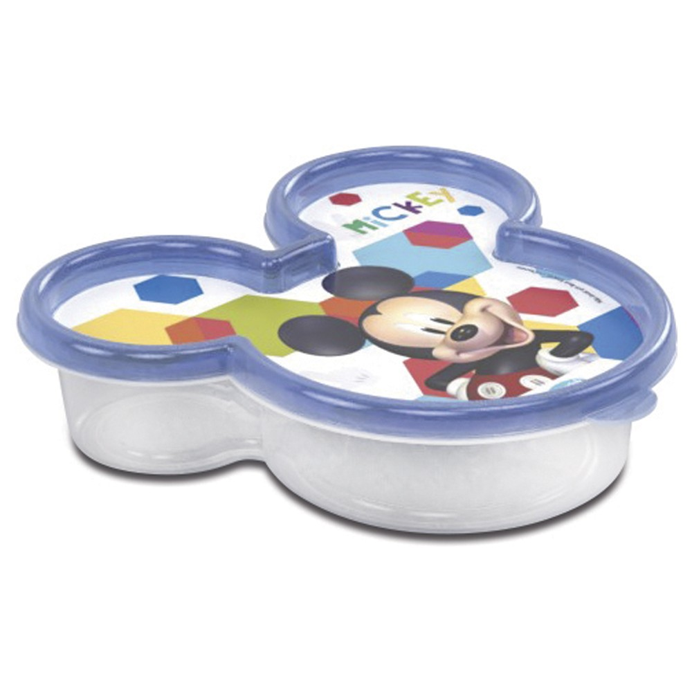 Pote de Polipropileno Rosto Mickey 320Ml
